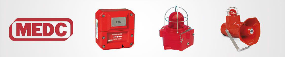 MEDC alarm, signalling and control equipment
